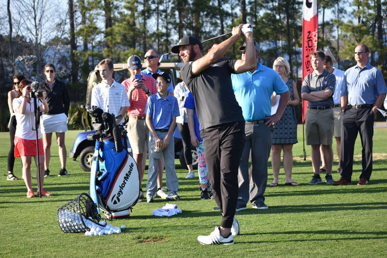Dustin Johnson Golf School Swing