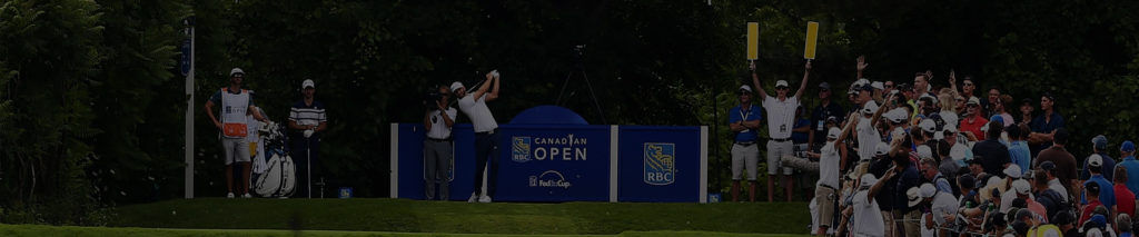 Dustin Johnson at Canadian Open