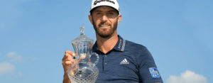 Dustin Johnson at Saint Jude Classic