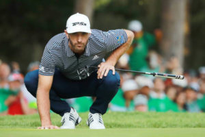 Dustin Johnson at WGC Mexico Championship