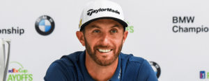 Dustin Johnson BMW Championship 2016