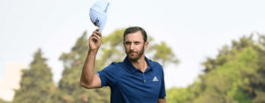 Dustin Johnson at WGC Mexico